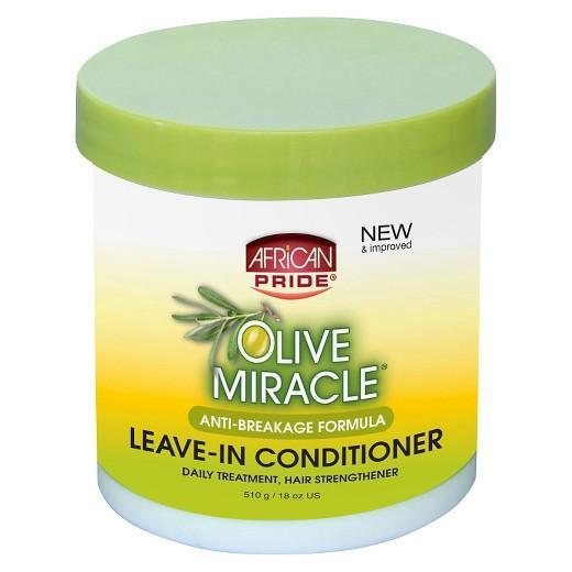 Buy African Pride, OLIVE MIRACLE ANTI-BREAKAGE LEAVE-IN CONDITIONER CRèME - 15 oz at Herbal Bless Supplement Store
