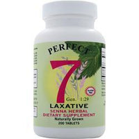 Buy Agape Health Products, Perfect 7 Laxative, 200 tabs at Herbal Bless Supplement Store