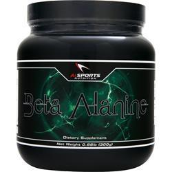 Buy AI Sports Nutrition, Beta Alanine, 300 grams at Herbal Bless Supplement Store