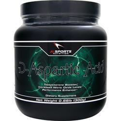 Buy AI Sports Nutrition, D-Aspartic Acid Powder, 300 grams at Herbal Bless Supplement Store