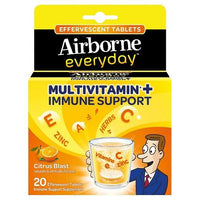 Buy Airbone, Everybody Citrus Blast Multivitamin Effervescent Tablets - 20ct at Herbal Bless Supplement Store