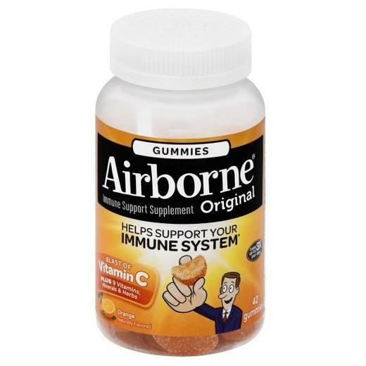 Buy Airborne®, Original Orange Immune Support Gummies - 21ct at Herbal Bless Supplement Store