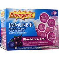 Buy Alacer, Emergen-C Immune + System Support with Vit. D, Blueberry-Acai 30 pckts at Herbal Bless Supplement Store