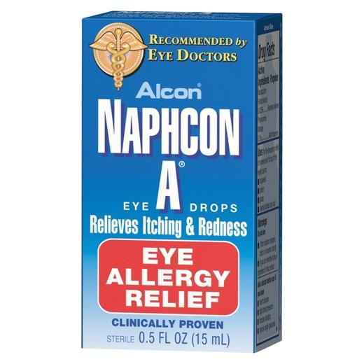 Buy Alcon®, Naphcon-A Eye Allergy Relief Eye Drops - 0.5 oz at Herbal Bless Supplement Store
