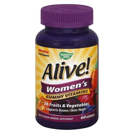 Buy Alive!, Women's Bones, Skin, Nails Vitamin Gummies - 60ct at Herbal Bless Supplement Store