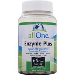 Buy All One, Enzyme Plus, 180 tabs at Herbal Bless Supplement Store