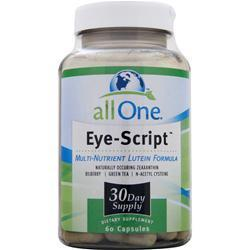 Buy All One, Eye-Script, 60 caps at Herbal Bless Supplement Store