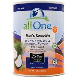 Buy All One, Men's Complete Multi-Vitamin Mineral Powder Once Daily, Vanilla 1.9 lbs at Herbal Bless Supplement Store
