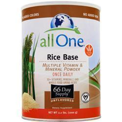 Buy All One, Multi-Vitamins & Minerals - Rice Base at Herbal Bless Supplement Store
