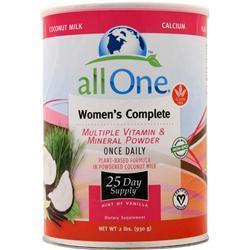 Buy All One, Women's Complete Multi-Vitamin & Mineral Powder, Vanilla 2 lbs at Herbal Bless Supplement Store