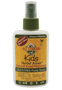 Buy All Terrain, Kid's Herbal Armor Spray - Natural Insect Repellent, 4 fl oz at Herbal Bless Supplement Store