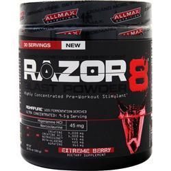 Buy Allmax Nutrition Razor8 Blast Powder - Buy 2 get 1 Free at Herbal Bless Supplement Store