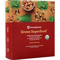 Buy Amazing Grass, Green Superfood Whole Fruit, Nut & Seed Bar at Herbal Bless Supplement Store