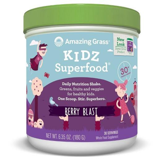 Buy Amazing Grass, Kidz Superfood Berry 30 Servings at Herbal Bless Supplement Store