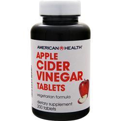 Buy American Health, Apple Cider Vinegar, 200 tabs at Herbal Bless Supplement Store