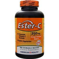 Buy American Health, Ester-C (250mg) Chewable, Orange 125 wafrs at Herbal Bless Supplement Store