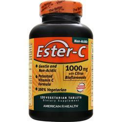Buy American Health, Ester-C with Citrus Bioflavonoids Vegetarian (1000mg) 120 tabs at Herbal Bless Supplement Store