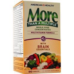 Buy American Health, More Than A Multiple - With Brain Essentials, 90 tabs at Herbal Bless Supplement Store