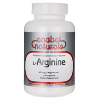 Buy ANABOL NATURALS, L-Arginine 500mg, 100 capsule at Herbal Bless Supplement Store
