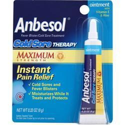 Buy Anbesol, Cold Sore Therapy - Maximum Strength, .33 oz at Herbal Bless Supplement Store