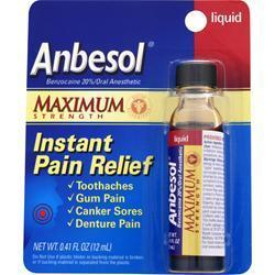 Buy Anbesol, Maximum Strength, 0.41 fl.oz at Herbal Bless Supplement Store