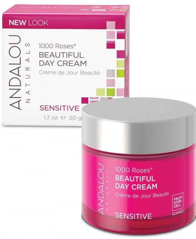Buy Andalou Naturals, 1000 Roses Beautiful Day Cream, 1.7 oz at Herbal Bless Supplement Store