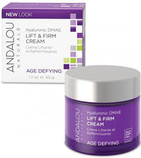 Buy Andalou Naturals, Age Defying Hyaluronic DMAE Lift & Firm Cream, 1.7 oz at Herbal Bless Supplement Store
