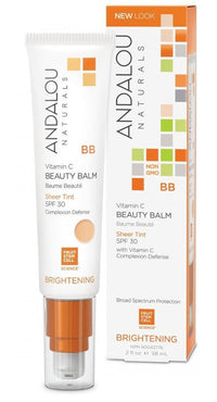 Buy Andalou Naturals, All in One Beauty Balm Sheer Tint with SPF30, 2 oz at Herbal Bless Supplement Store