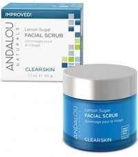 Buy Andalou Naturals, Facial Scrub Lemon Sugar, 1.7 oz at Herbal Bless Supplement Store