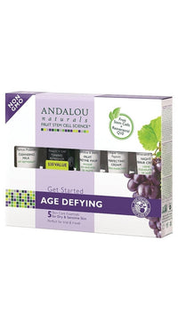 Buy Andalou Naturals, Get Started Age Defying Kit, 5 pc at Herbal Bless Supplement Store