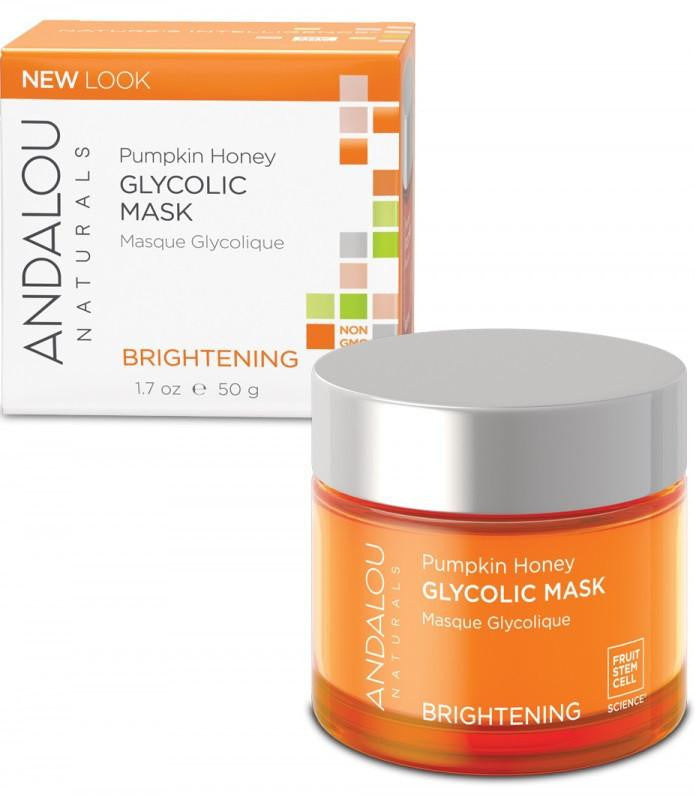 Buy Andalou Naturals, Glycolic Brightening Mask Pumpkin, 1.7 oz at Herbal Bless Supplement Store
