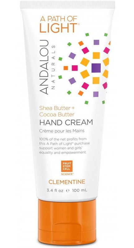 Buy Andalou Naturals, Hand Cream Clementine, 3.4 oz at Herbal Bless Supplement Store