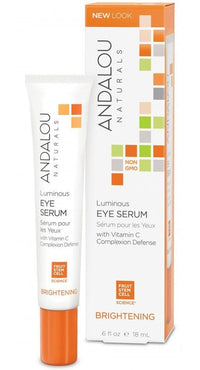 Buy Andalou Naturals, Luminous Eye Serum, 0.6 oz at Herbal Bless Supplement Store