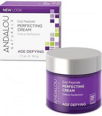 Buy Andalou Naturals, Super Goji Peptide Age defying Perfecting Cream, 1.7 oz at Herbal Bless Supplement Store