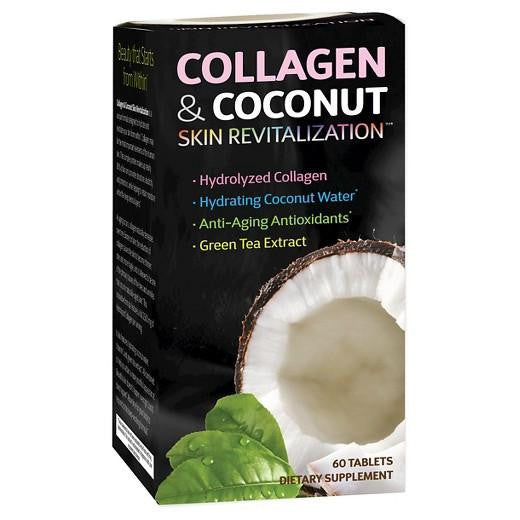Buy Applied Nutrition, Collagen & Coconut Skin Revitalization Supplement 60ct at Herbal Bless Supplement Store