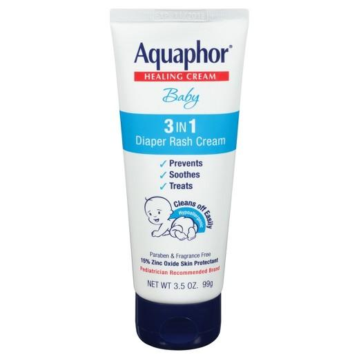 Buy Aquaphor, Baby 3-in-1 Diaper Rash Cream - 3.5oz at Herbal Bless Supplement Store