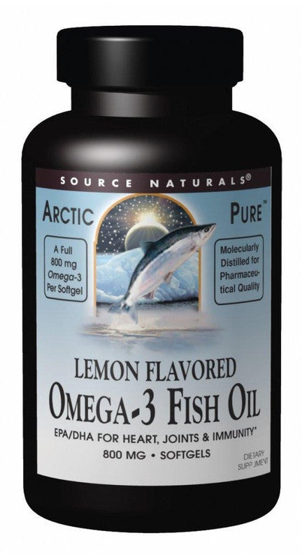 Buy ArcticPure® Omega-3 Fish Oil Lemon Flavor 800mg, 30 softgel at Herbal Bless Supplement Store