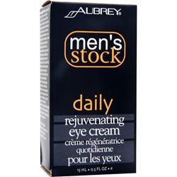 Buy Aubrey, Men's Stock Daily Rejuvenating Eye Cream .5 fl.oz at Herbal Bless Supplement Store