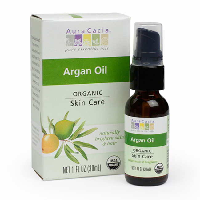 Buy Aura Cacia, Argan Oil Certified Organic Boxed, 1 oz at Herbal Bless Supplement Store