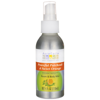 Buy Aura Cacia, Aromatherapy Mist Patchouli & Orange, 4 oz at Herbal Bless Supplement Store