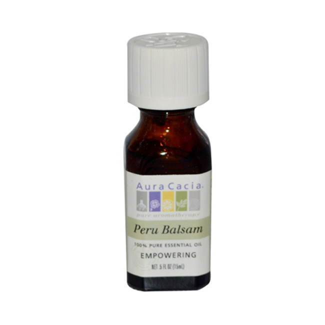 Buy Aura Cacia, Essential Oil Balsam Peru (Myroxylon pereae), 0.5 oz at Herbal Bless Supplement Store
