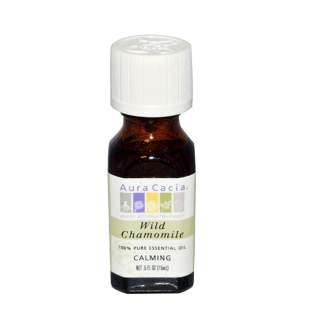 Buy Aura Cacia, Essential Oil Chamomile, 0.5 oz at Herbal Bless Supplement Store