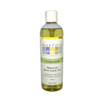 Buy Aura Cacia, Pure Skin Care Oil Grapeseed with Natural Vit E, 16 oz at Herbal Bless Supplement Store