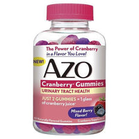 Buy AZO, Cranberry Urinary Tract Health Gummies 40ct at Herbal Bless Supplement Store