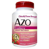 Buy AZO, Urinary Tract Health Cranberry Softgels - 100ct at Herbal Bless Supplement Store