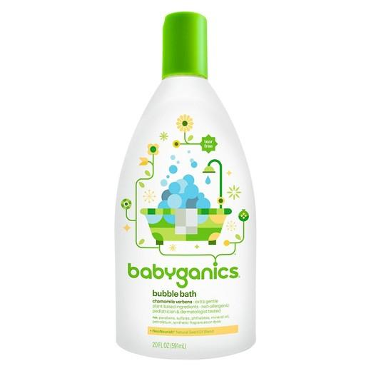 Buy Babyganics, Baby Bubble BathChamomile Verbena - 20oz Bottle at Herbal Bless Supplement Store