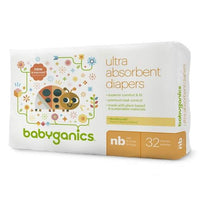 Buy Babyganics, DiapersJumbo Pack (Select Size) at Herbal Bless Supplement Store