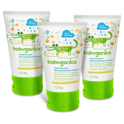 Buy Babyganics, Eczema Cream 3oz. (3 pk) at Herbal Bless Supplement Store