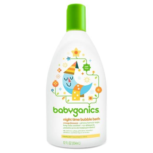 Buy Babyganics, Night Time Baby Bubble BathOrange Blossom - 12oz at Herbal Bless Supplement Store