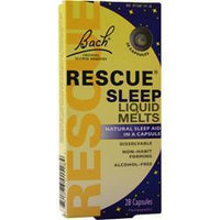 Buy Bach Flower Remedies, Rescue Sleep Liquid Melts, 28 caps at Herbal Bless Supplement Store